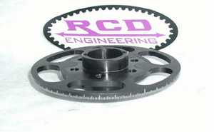 RCD crank hub for SB Chevy