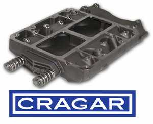 Crager-style Manifold for 392 Hemi or 417 Donovan