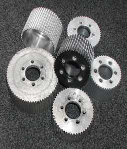 USED 8MM Blower Pulleys
