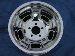 Real Wheels aluminum fully polished Halibrand style(copy) wheels