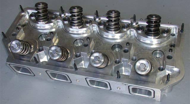 Billet Cylinder Heads : Performance motorsports nostalgic racing