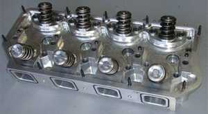 Alan Johnson billet cylinder heads