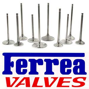 Ferrea Stainless, Inconel and Titanium valves