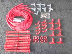 MSD ignition wire set for MSD magneto