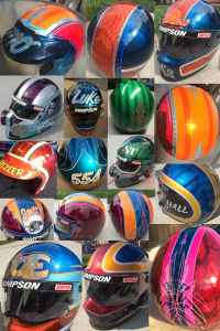 Custom Painted Helmets