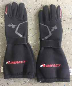 Impact -20 fuel funny car gloves